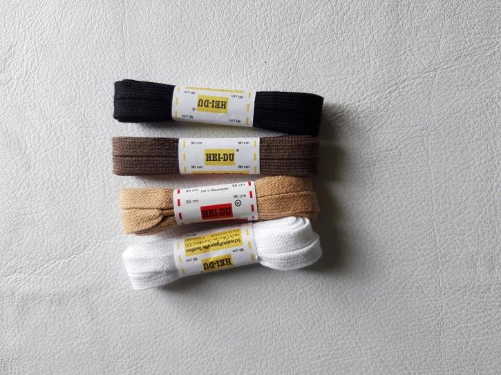 Schnürsenkel Flach reine Baumwolle 90cm