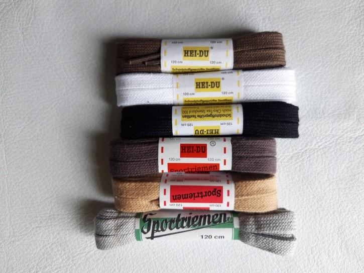 Schnürsenkel Flach reine Baumwolle 120cm