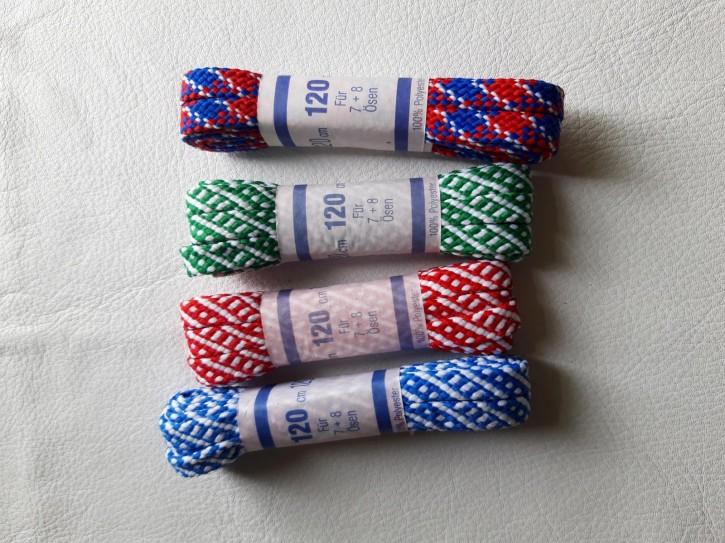 Schnürsenkel Flach 100% Polyester 120cm