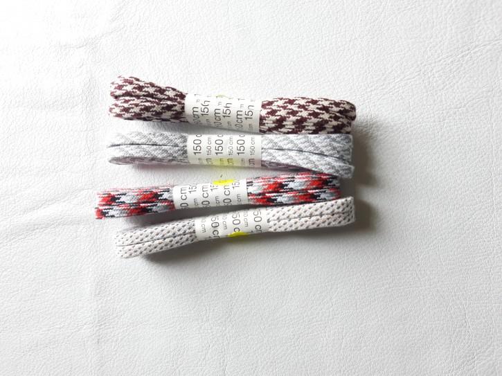 Schnürsenkel Flach reine Baumwolle 150cm