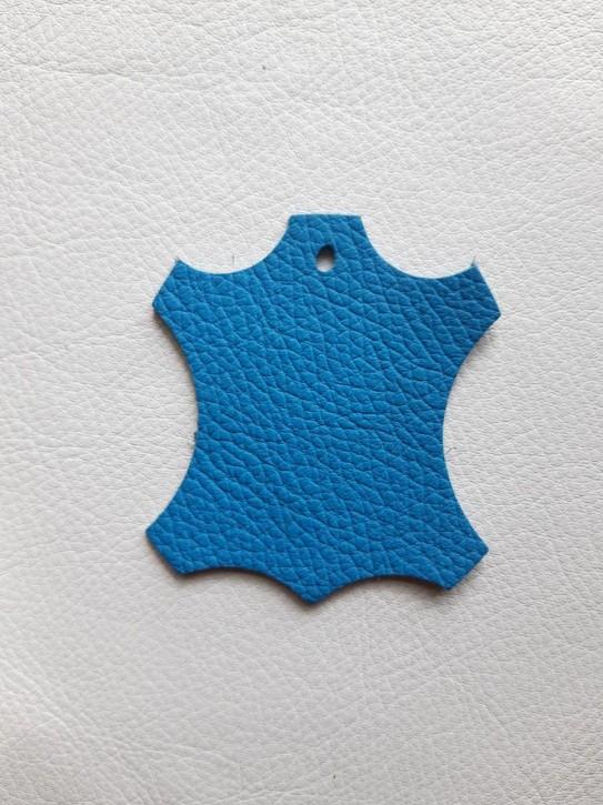Rindnappaleder für Babyschuhe, Lederwaren hell blau