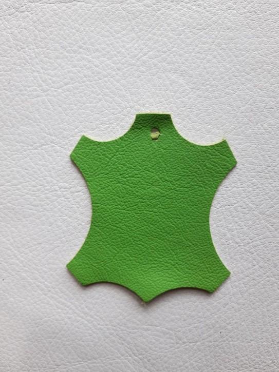 Rindnappaleder für Babyschuhe, Lederwaren grün 40x30cm