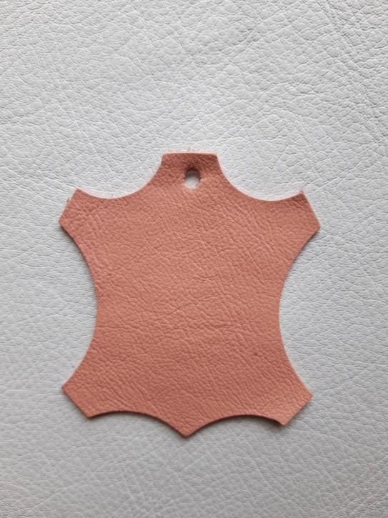 Rindnappaleder für Babyschuhe, Lederwaren rosa 40x30cm