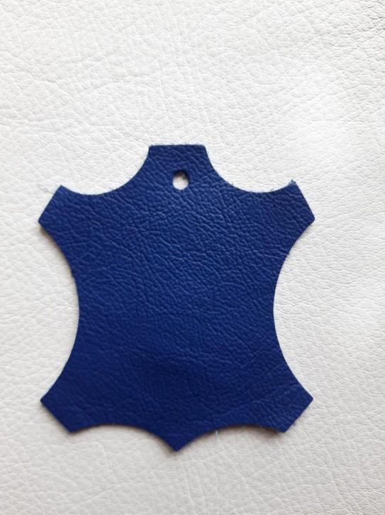 Rindnappaleder für Babyschuhe, Lederwaren blau 40x30cm