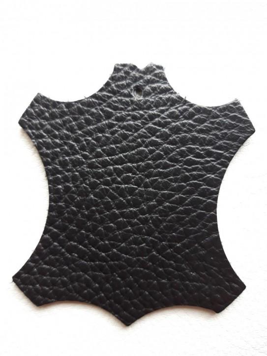 Rindnappaleder für Babyschuhe, Lederwaren schwarz