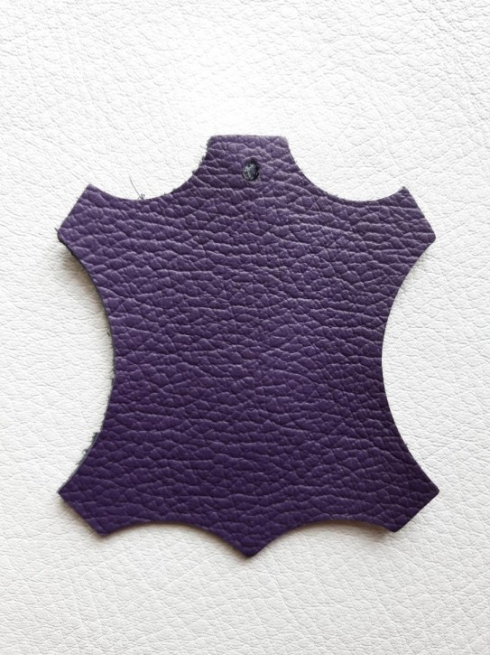 Rindnappaleder für Babyschuhe, Lederwaren lila